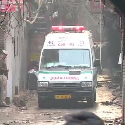 43 people killed after massive fire breaks out in factory in Delhi's Anaj Mandi