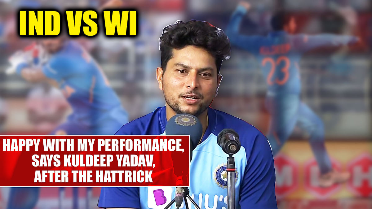 IND vs WI: Happy with my performance, says Kuldeep Yadav, after the hattrick
