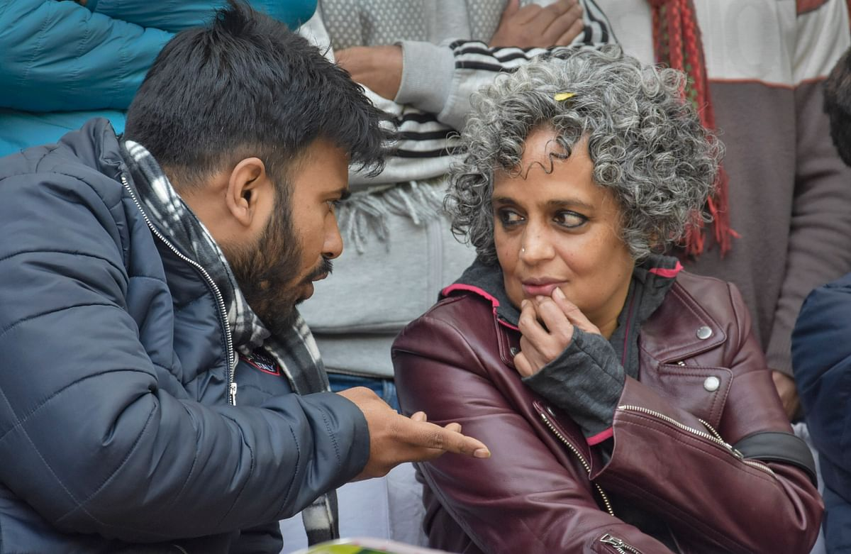 SC lawyer files complaint against Arundhati Roy for urging people to lie about NPR