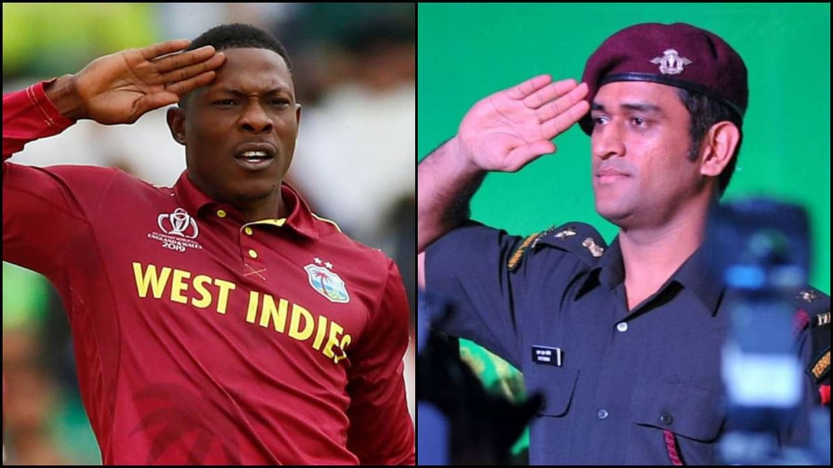 After MS Dhoni and Sheldon Cottrell, here's another cricketer who joined the Army