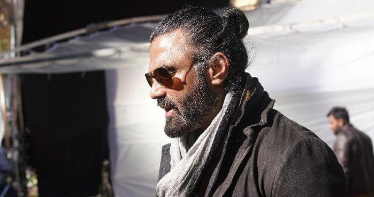 Suniel Shetty in 'Darbar'