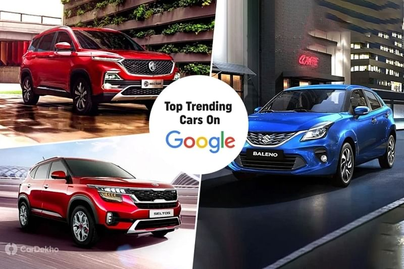 MG Hector, Kia Seltos, Maruti Baleno Among Google's Top 10 Most Searched Cars In 2019