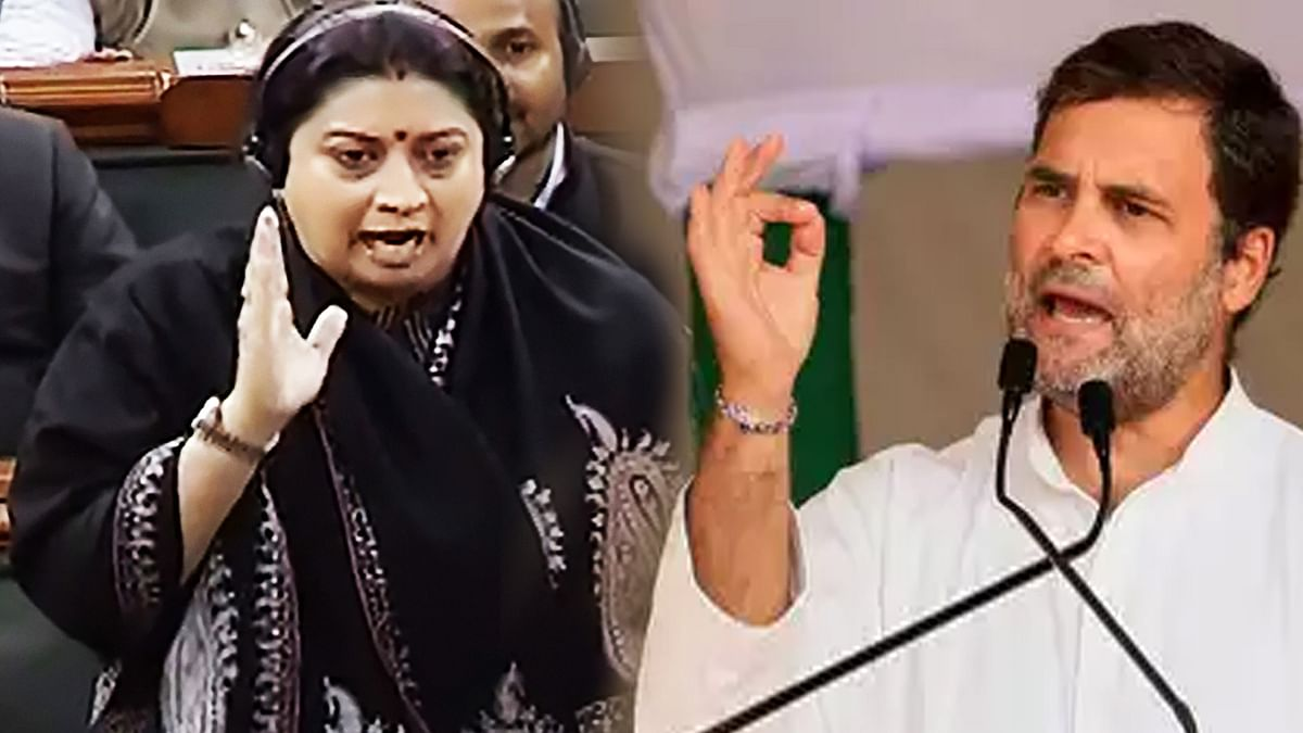 Smriti Irani turns to old Rahul red herring, claims Cong MP called for women's rape