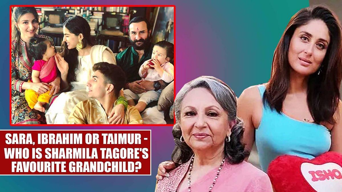 Sara, Ibrahim or Taimur - who is Sharmila Tagore's favourite grandchild?
