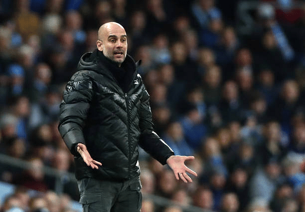 'We're not up to Liverpool's standard,' says Guardiola