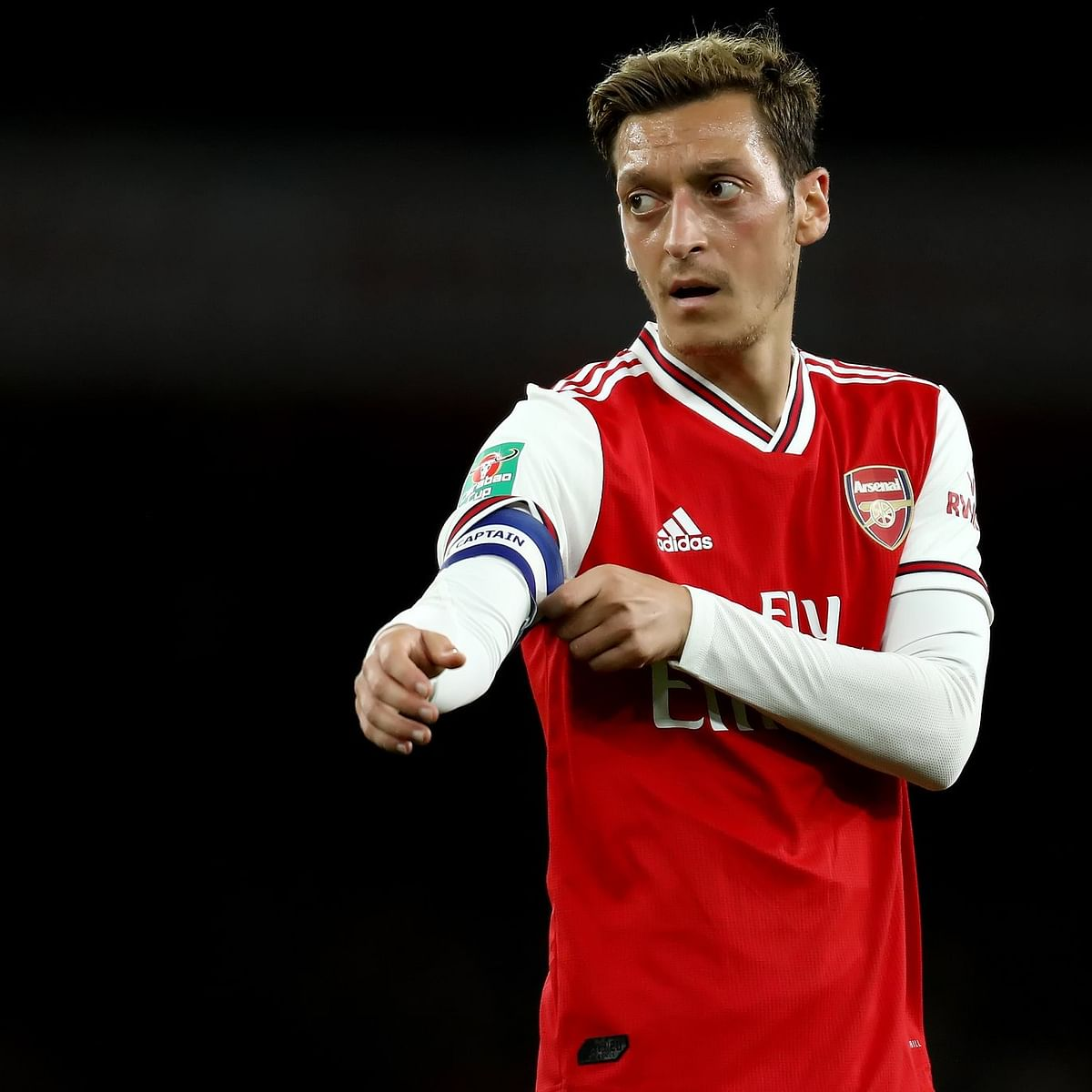 Mesut Ozil writes emotional note to Arsenal fans after being left out of Premier League squad