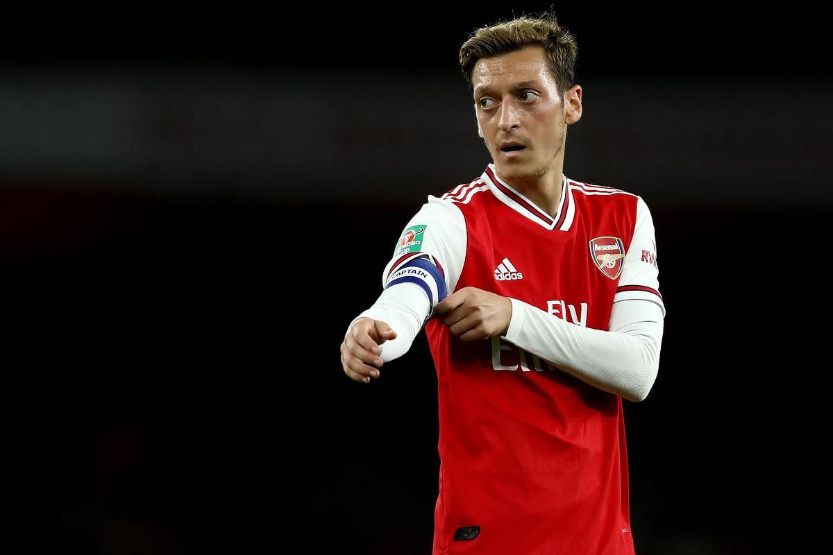 Arsenal footballer Mesut Ozil criticises China for Uighur suppression