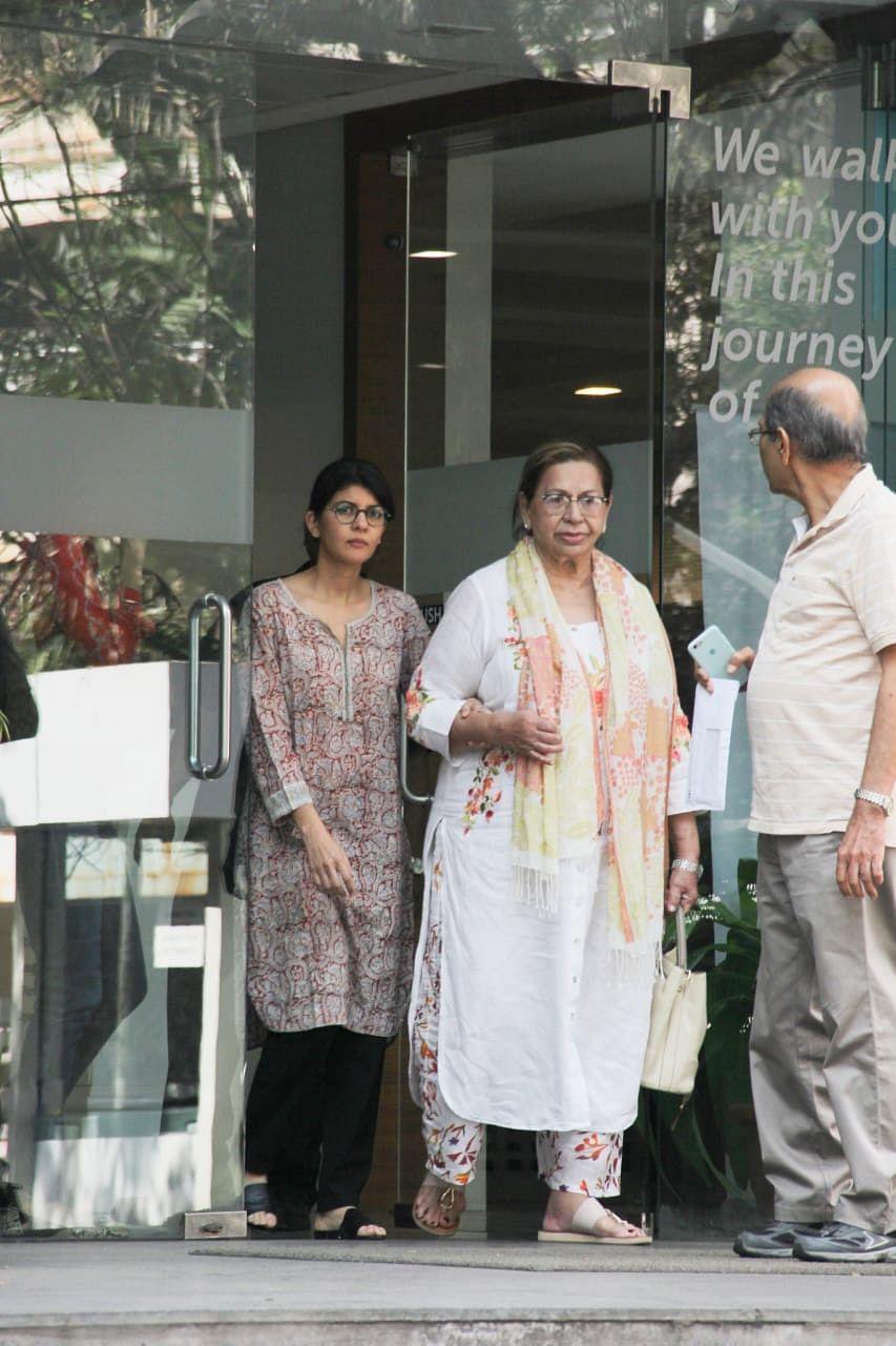 Helen at Hinduja hospital