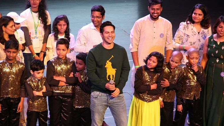 'Street Dancer' for a cause: Varun Dhawan dancing with cancer survivor kids will brighten up your Sunday
