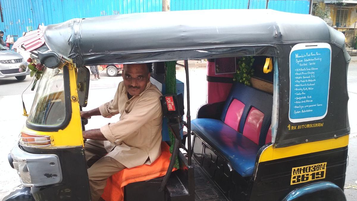Autorickshaw driver, Satyavan Gite
