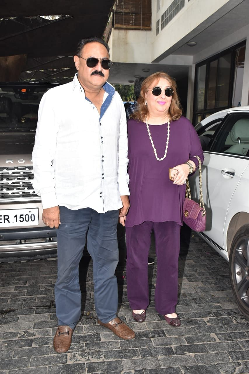 Reema Jain with her husband