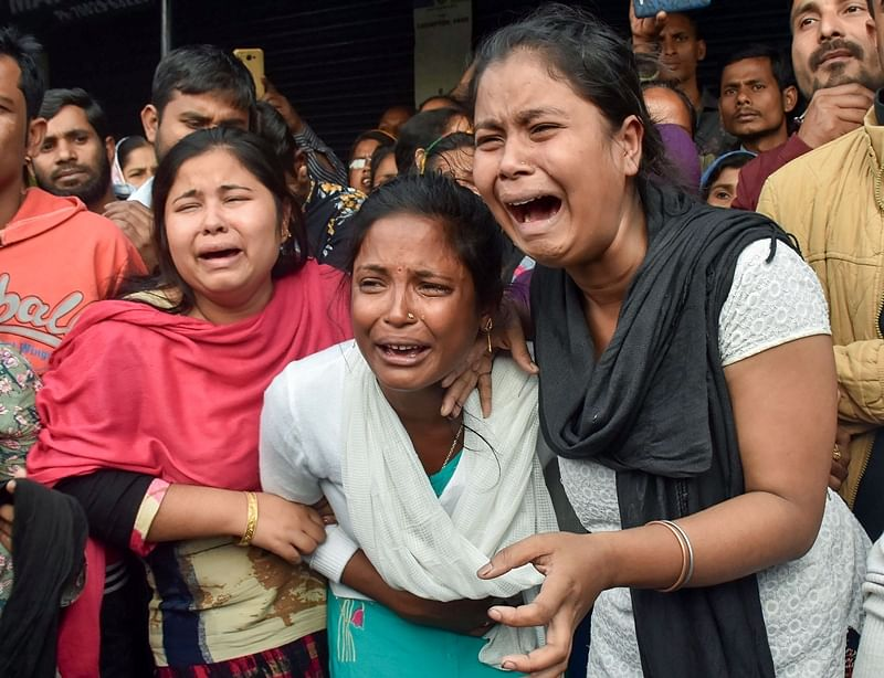 Assam: Violence abates but not protests