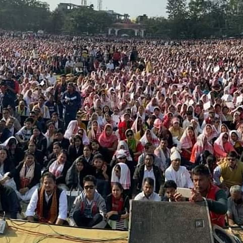 Rallies against CAA in Assam continue