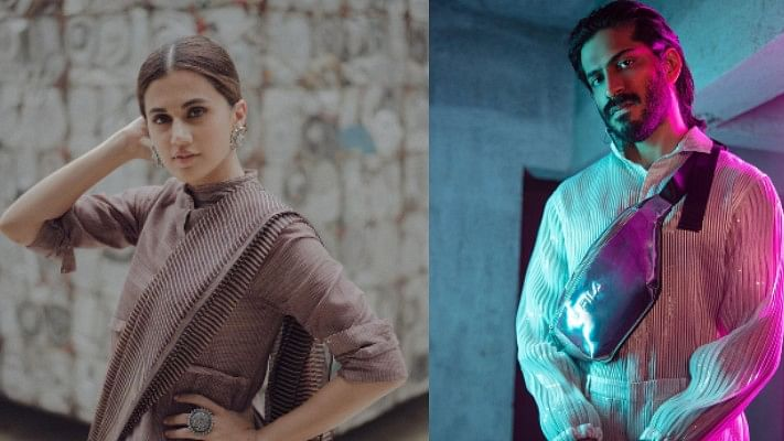 Taapsee Pannu mends bridges with Harsh Varrdhan Kapoor post her nepotism comment