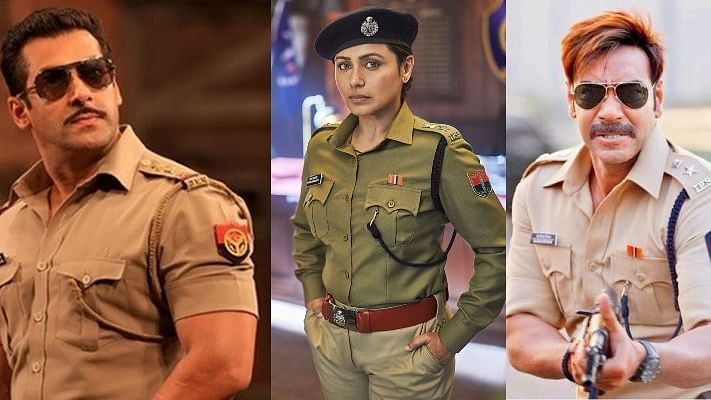 Did Rani Mukerji take a dig at 'larger-than-life cops' played by Salman Khan and Ajay Devgn?