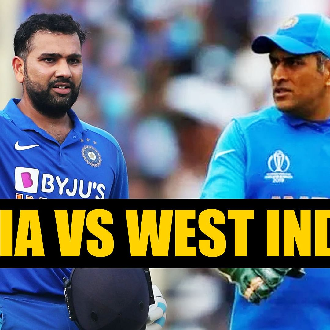 India vs WI: Rohit Sharma comfortably breaks MS Dhoni's sixes record by 92 innings