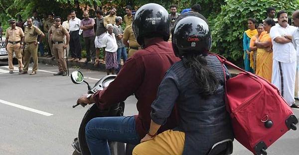 No longer fine to have child riding pillion without helmet