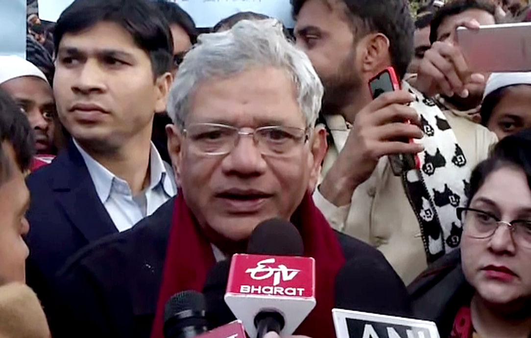 Local differences, state rivalries shouldn't come in way of defending democracy: Sitaram Yechury