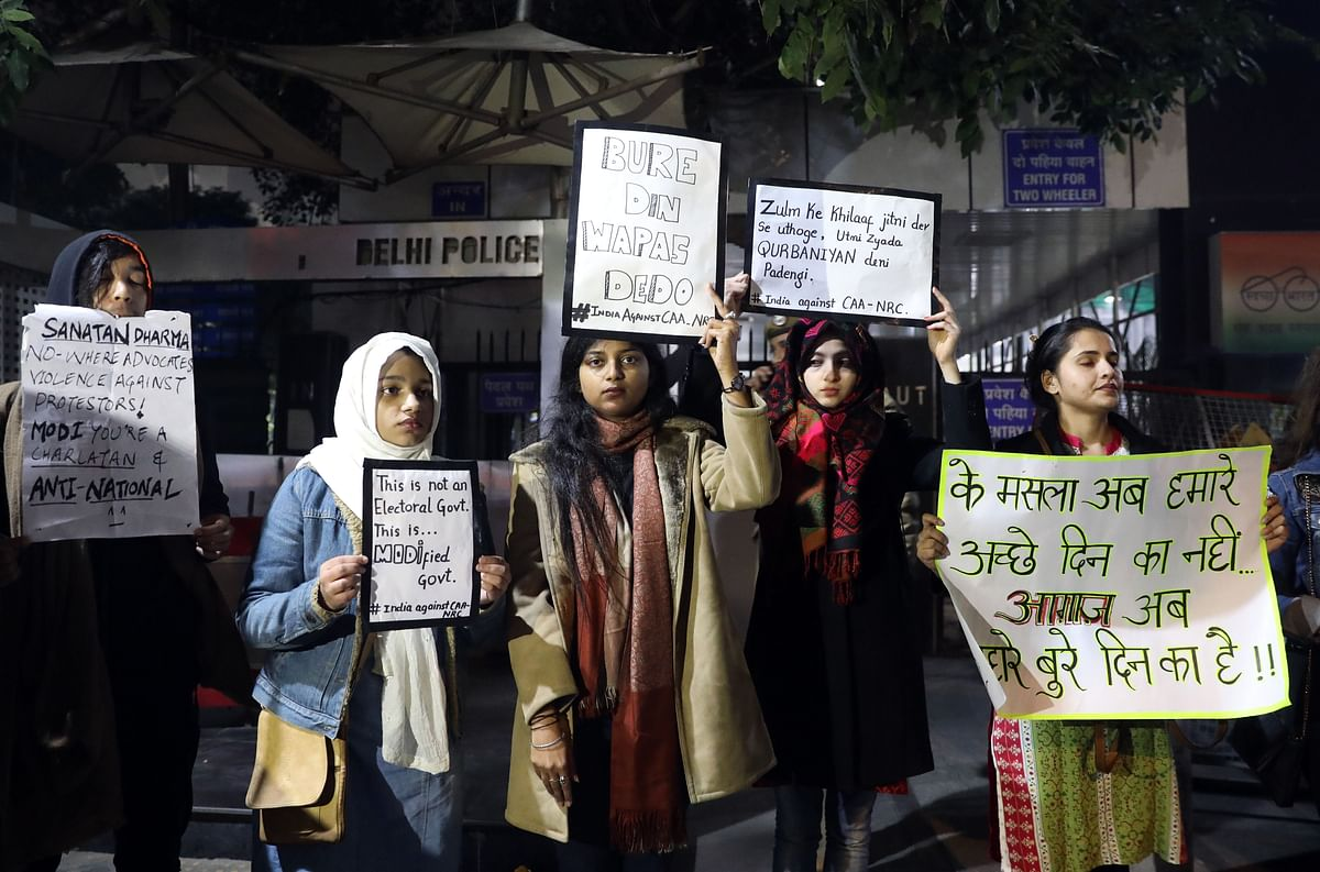 Citizenship law: In 2020, protests will be confined to Muslims