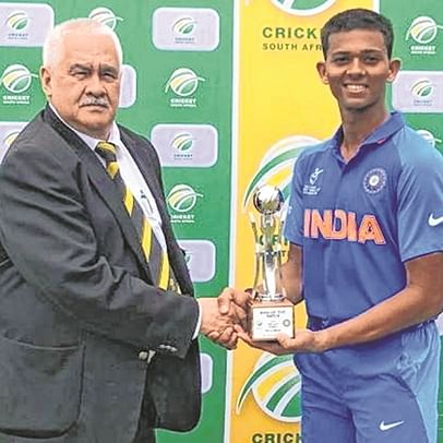 Yashasvi Jaiswal grabbed four wickets before making an unbeaten 89 to star in India U19 clinch series