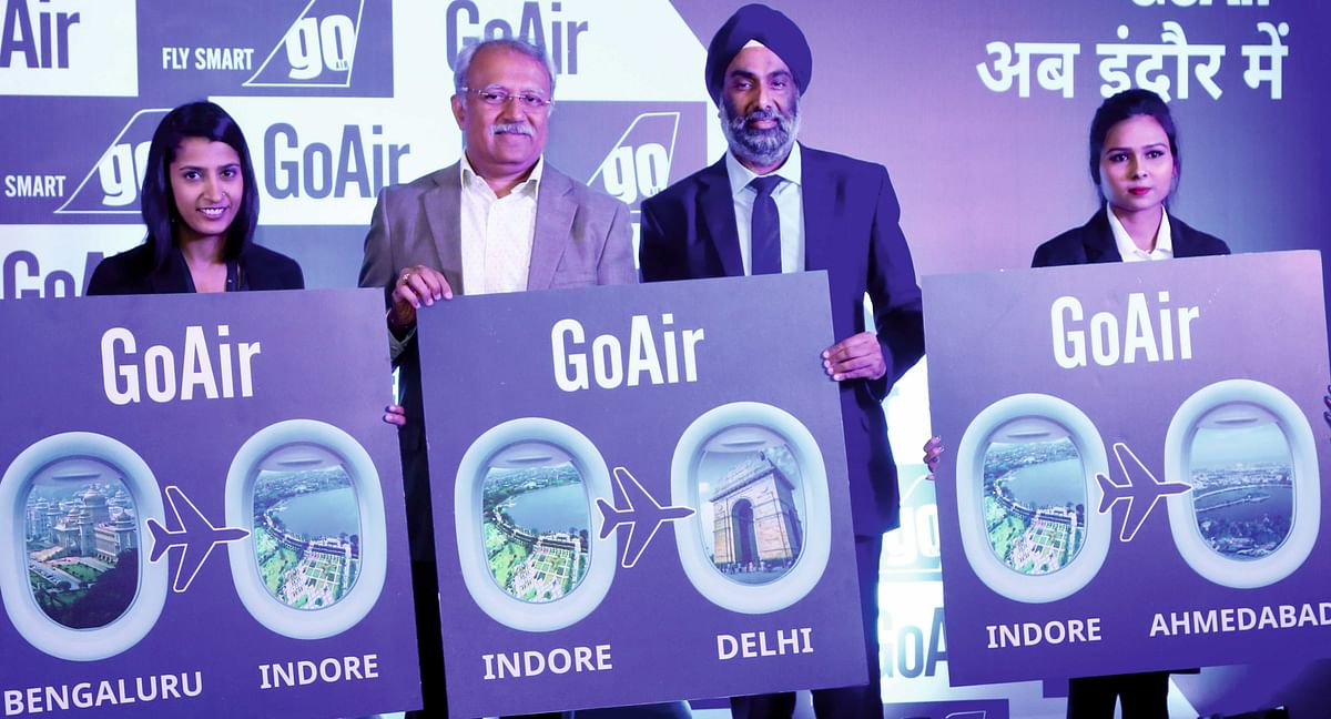 More choice to fliers as GoAir to start 3 new flights from Indore