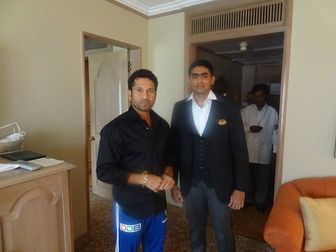 Taj fulfils Sachin Tendulkar's wish to meet Chennai hotel attendant