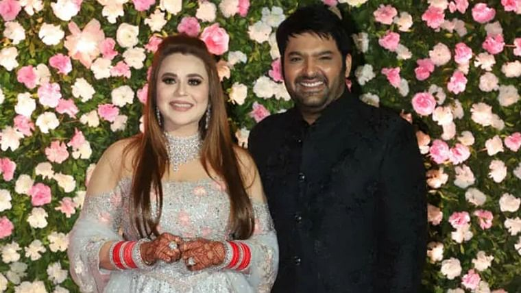 Kapil Sharma, wife Ginni celebrate first anniversary with their li'l angel