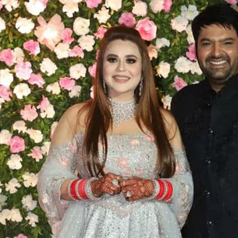 Kapil Sharma, wife Ginni celebrate first anniversary with their lil' angel