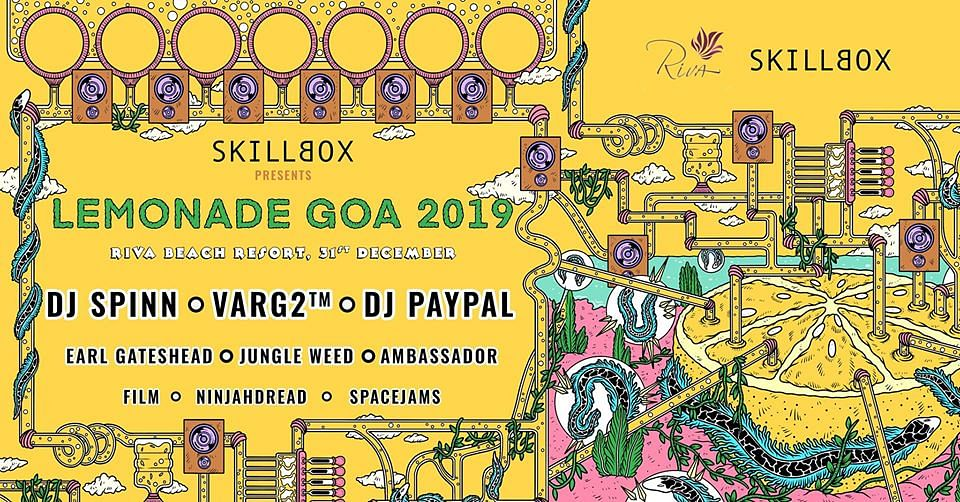Skillbox announces the second edition of its eclectic music festival 'Lemonade 2019' in Goa