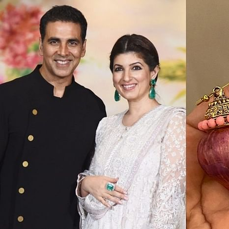 Akshay Kumar gifts Twinkle Khanna 'onion earrings' rejected by Kareena Kapoor