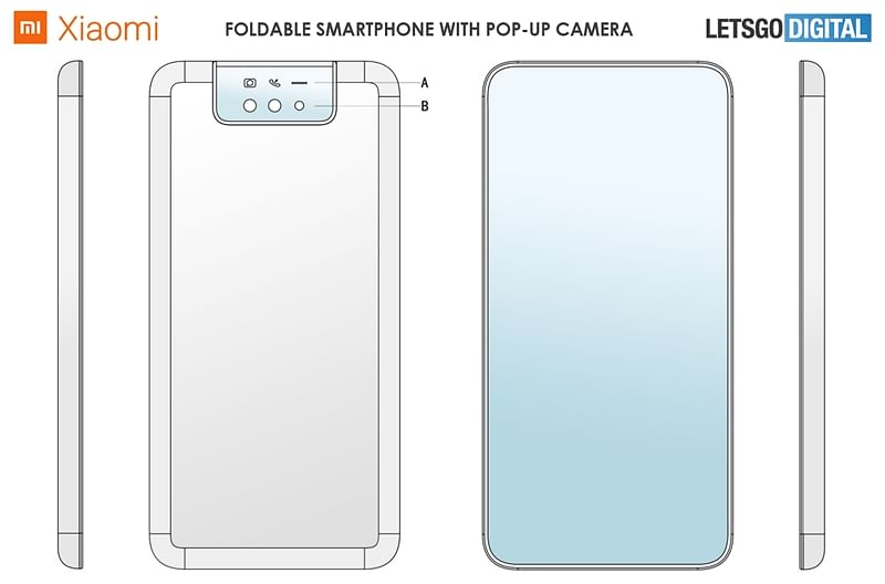 Xioami's take on Moto Razr is a foldable phone with pop-up selfie camera