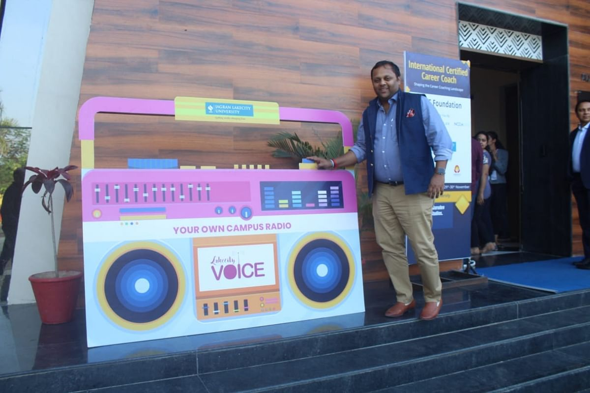 Bhopal: JLU launches 'Lakecity Voice' radio station