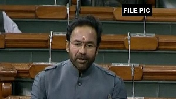 Union Minister of State for Home Affairs, G Kishan Reddy