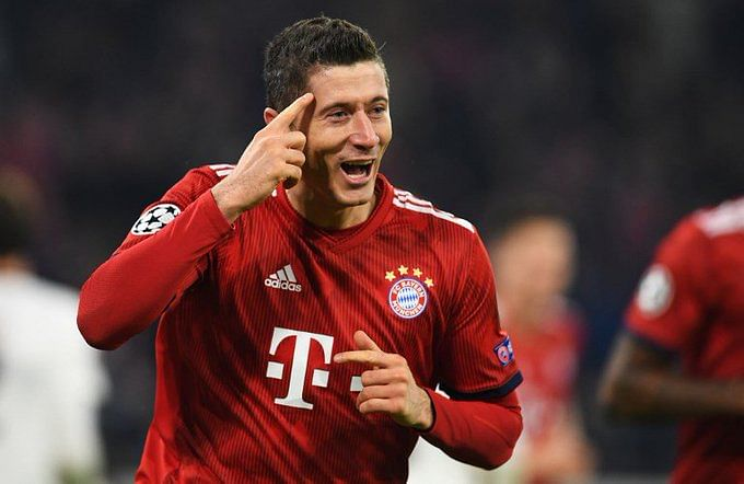 Too late to play for Real Madrid, says Lewandowski