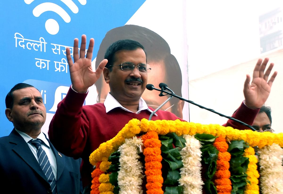 Arvind Kejriwal gives a savage reply to Twitter user asking him, 'Where is your muffler?'