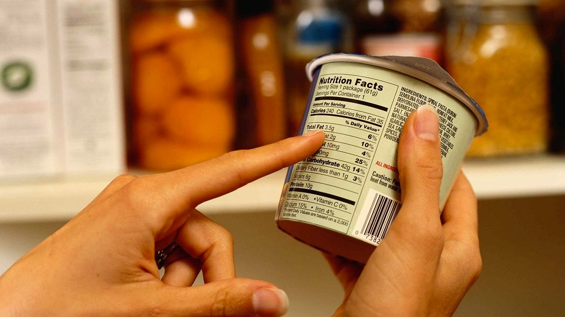 How food labels can help burn calories