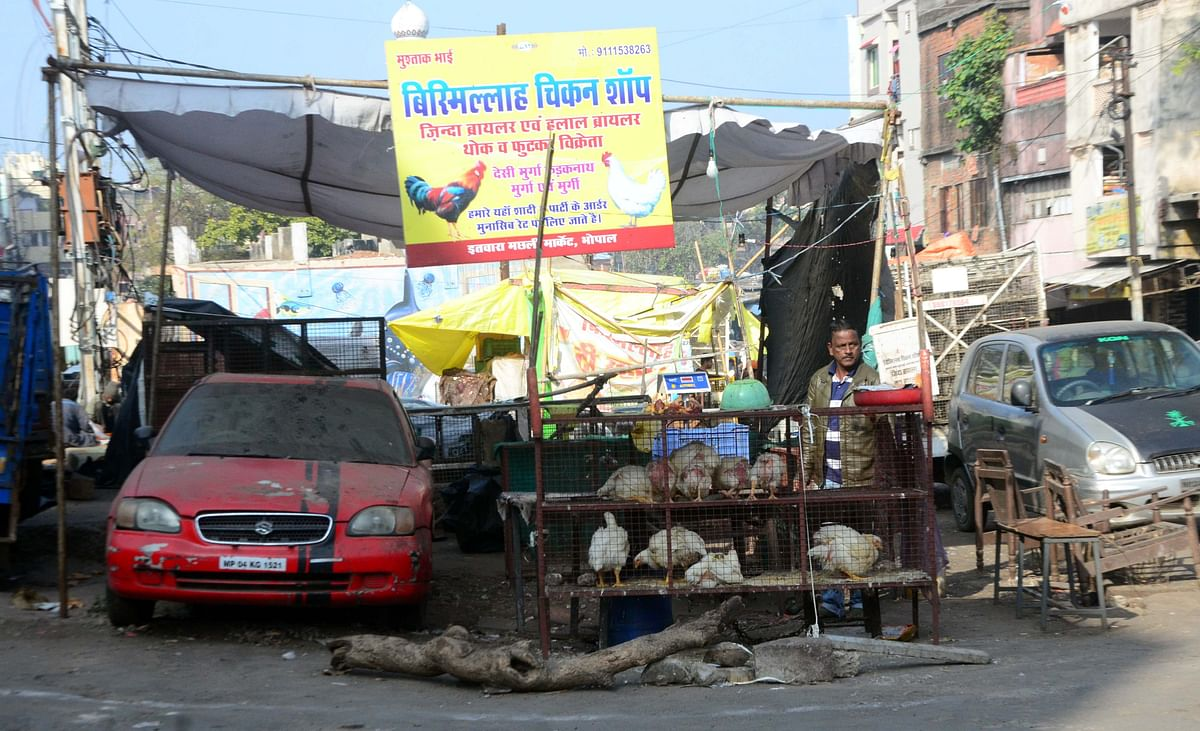 Bhopal: Sale of meat in open may mar states cleanliness ranking