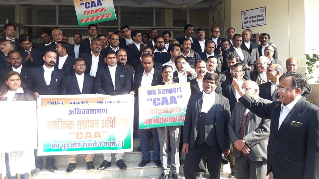 Bhopal lawyers stand divided on CAA, NRC