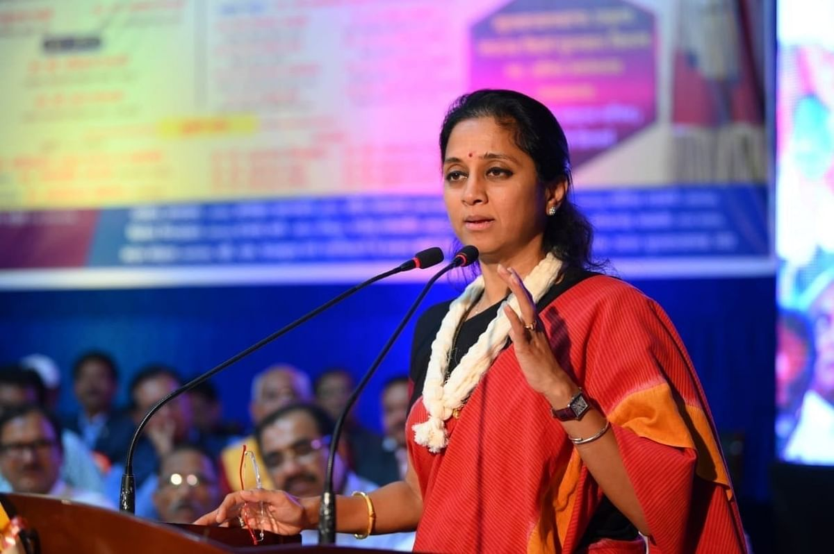 Supriya Sule asks Home Ministry to take hold of situation in Delhi over CAA row