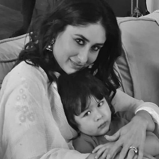 Kareena shares pic of Taimur gorging on French fries, thanks Arjun Kapoor for being their 'official photographer'
