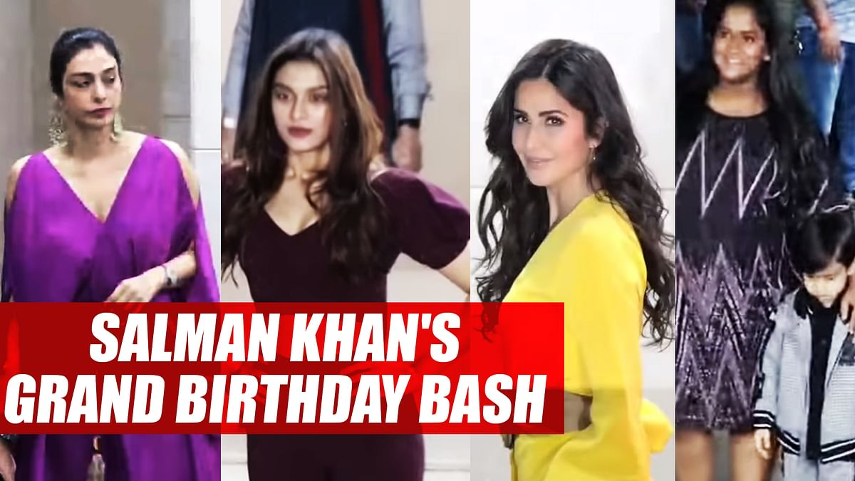 Katrina Kaif, Sunil Grover, Tabu And other Celebs attend Salman Khan's Grand Birthday Bash