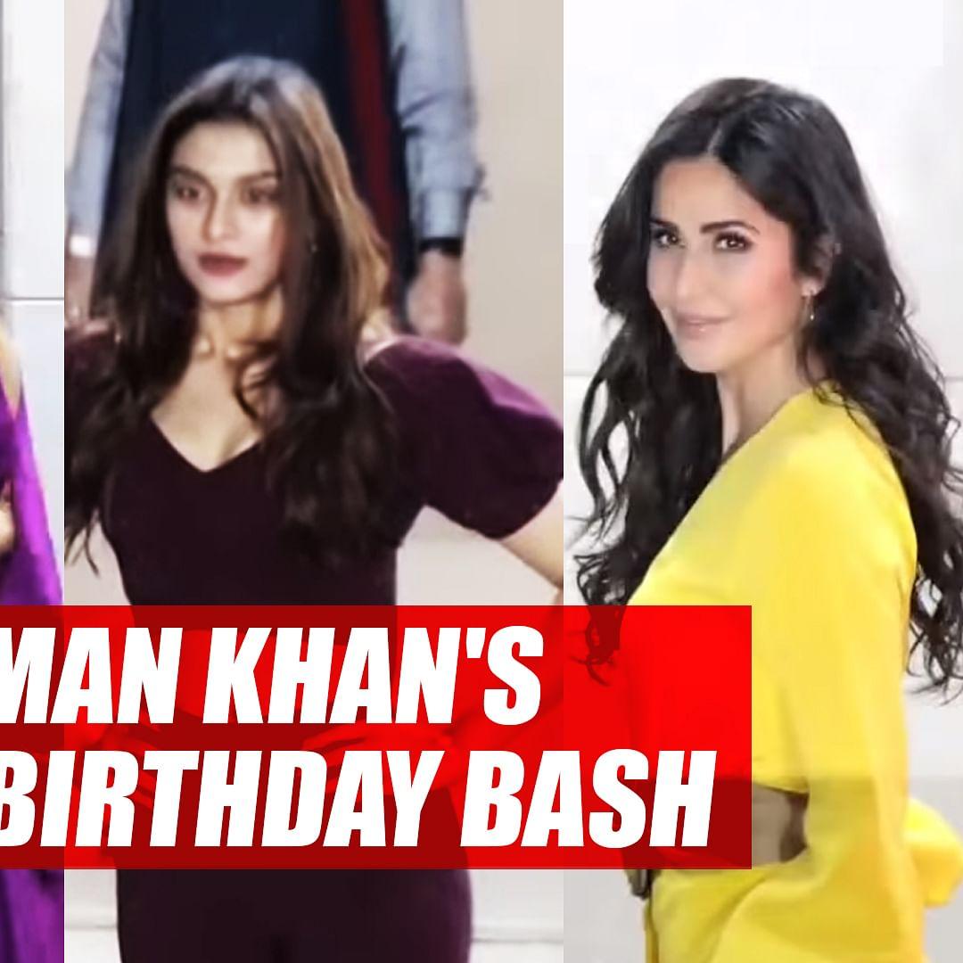 Katrina Kaif, Sunil Grover, Tabu And other Celebs attend Salman Khan's Grand Birthday Bash