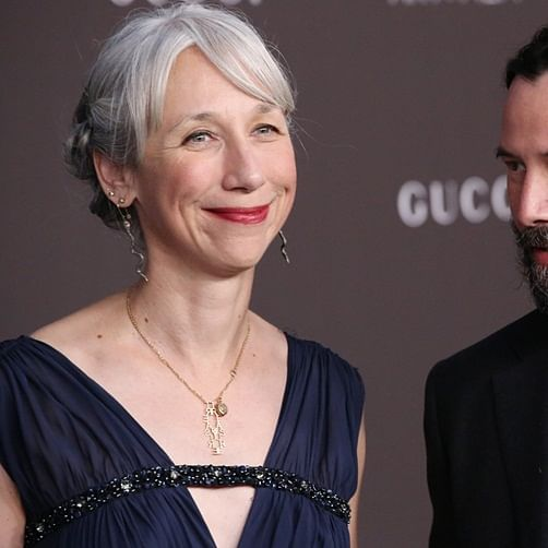 Keanu Reeves' beau Alexandra Grant reveals why doesn't dye her grey hair