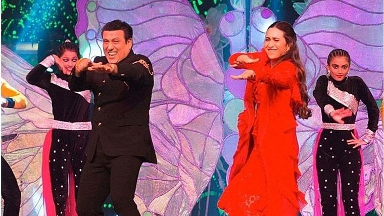 Karisma Kapoor takes us down memory lane as she grooves with her 'Hero No.1' Govinda
