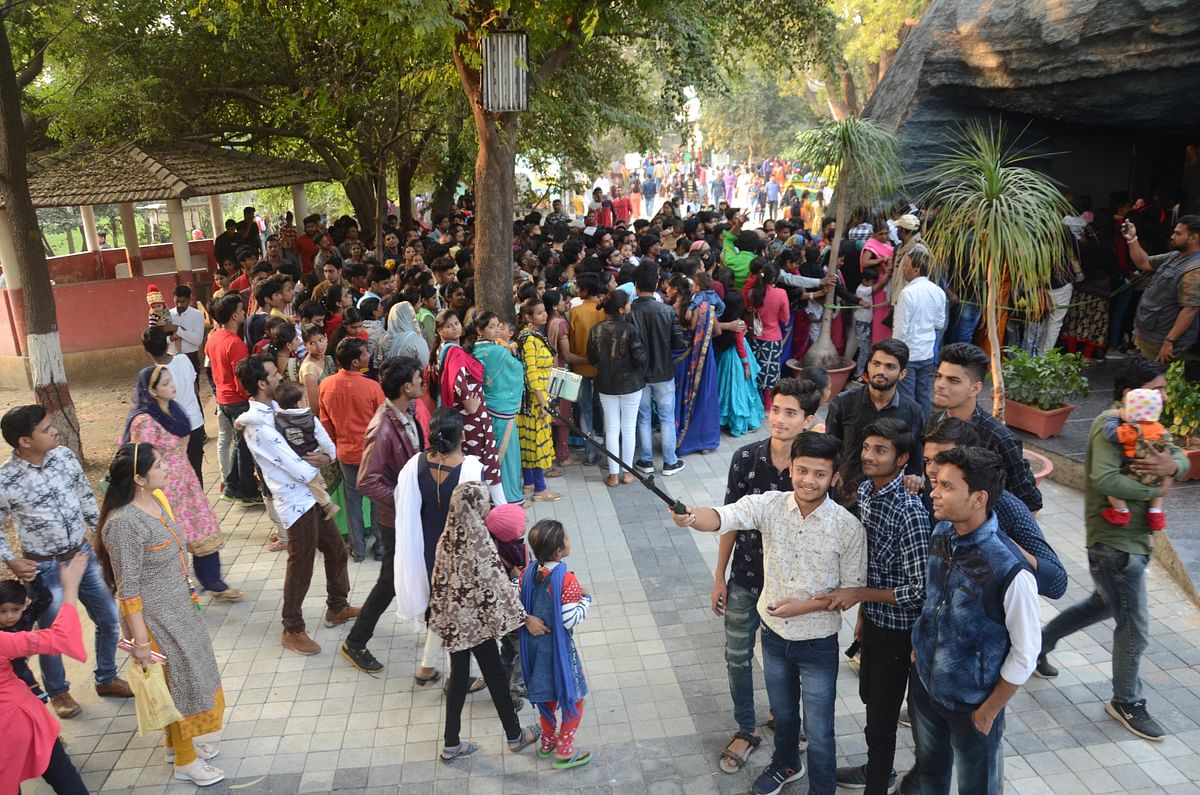 Over 300% rise in footfalls at Indore zoo