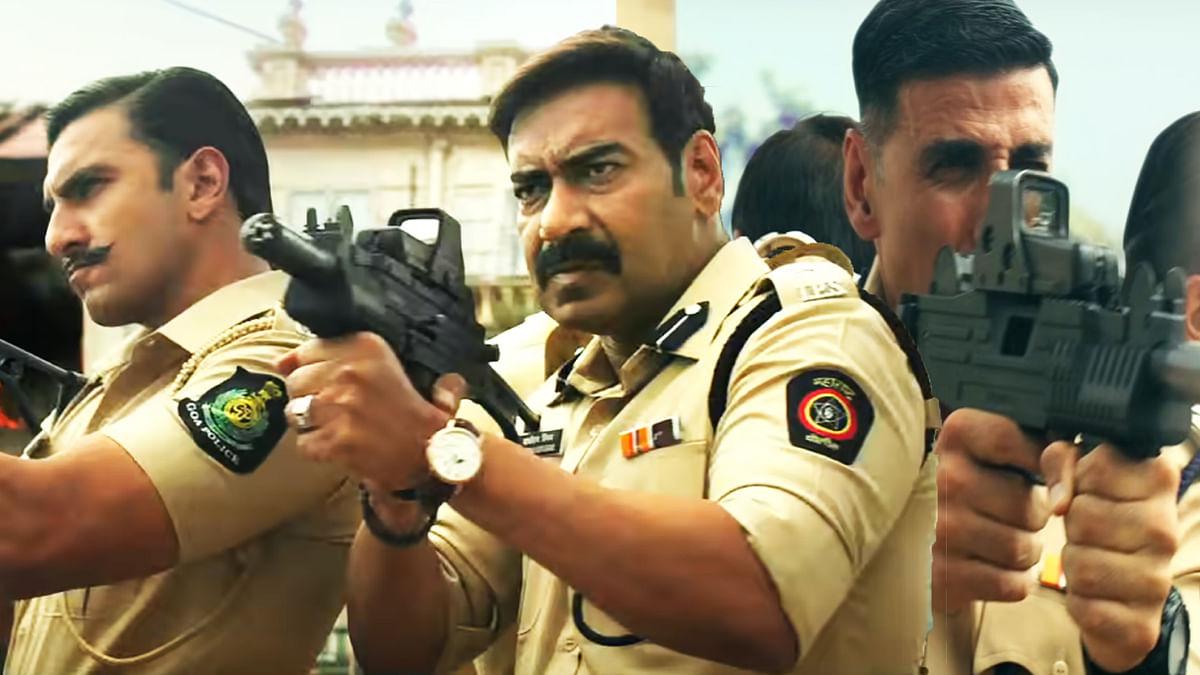 Ajay Devgn says filming 'Sooryavanshi' with Akshay Kumar and Ranveer Singh felt like house on fire