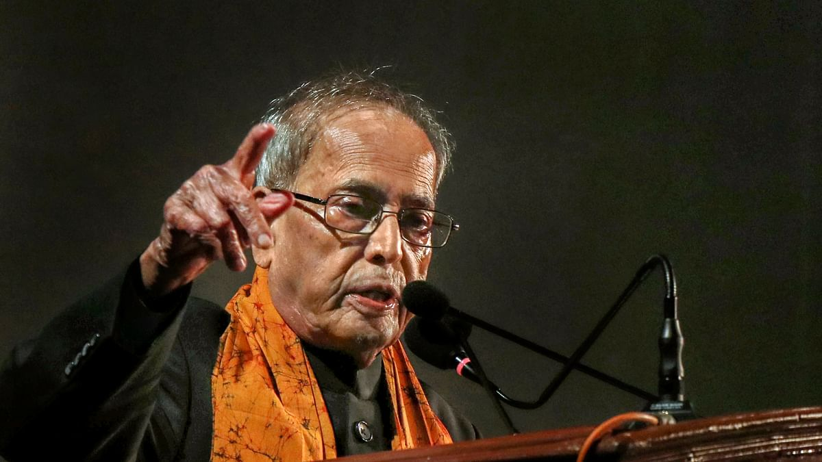 Mahatma Gandhi never accepted India's division on religious lines: Pranab Mukherjee