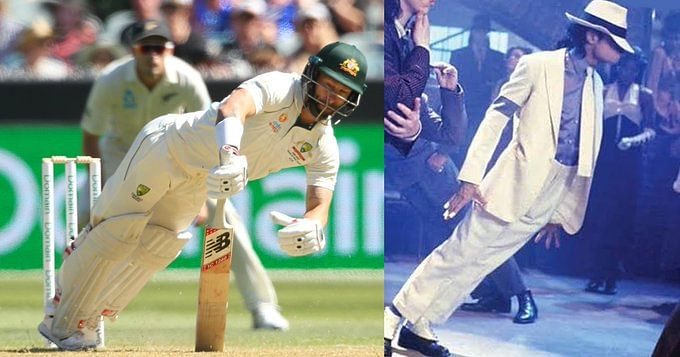 When Matthew Wade did a famous Michael Jackson move on field