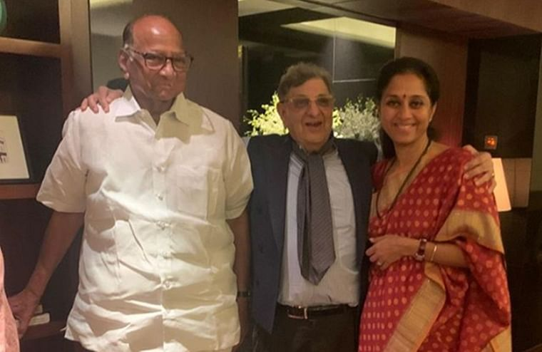 Pawar family celebrates patriarch's birthday with Cyrus Poonawalla