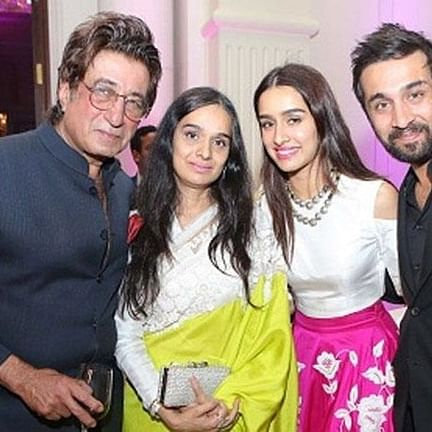 Shraddha Kapoor wishes parents Shakti, Shivangi a happy anniversary with throwback photo